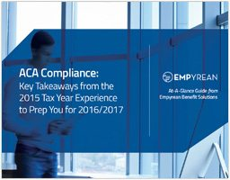 Affordable Care Act (ACA) Compliance: Navigating through the newest demands for 2016