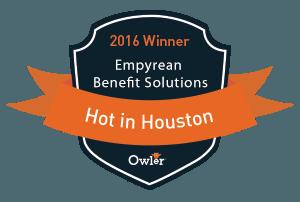 Empyrean Receives Owler's Hot in Houston 2016 Award