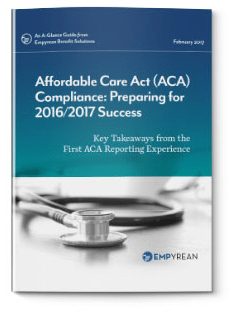 ACA Compliance: Preparing for 2016/2017 Success