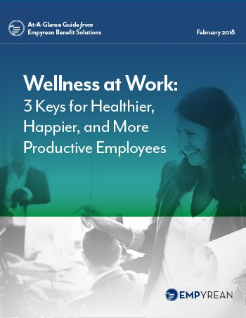Wellness at Work: 3 Keys for Healthier, Happier, and More Productive Employees
