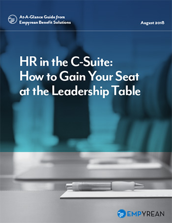 HR in the C-Suite: How to Gain Influence as an HR Leader