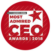 Rich Wolfe Wins the Houston Business Journal's Most Admired CEO Award