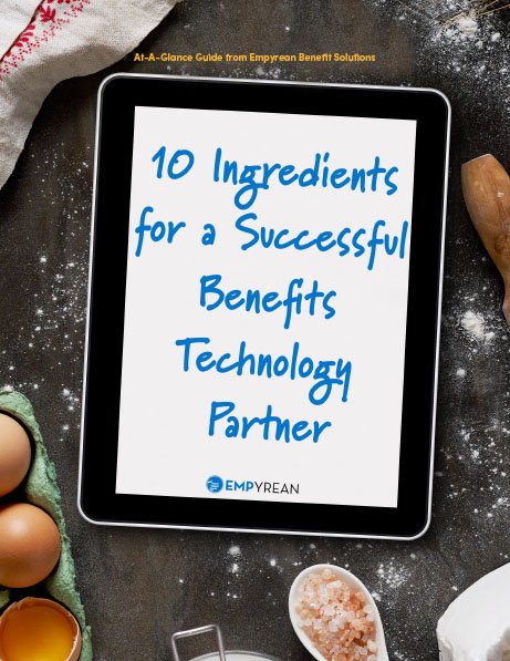 10 Ingredients for a Successful Benefits Technology Partner